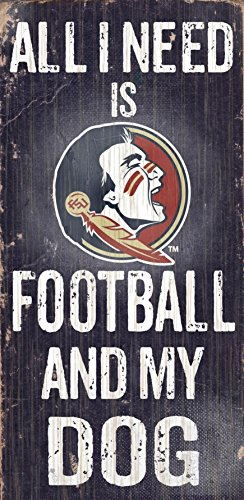 Fan Creations C0640 Florida State University Football And My Dog - Mall Florida Outlet