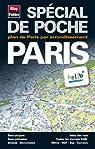 Plan de Paris - Avec localisation des stations Vélib', et plans : du métro, des Bus, du RER et du tramway - Echelle : 1/12 000 par Blay-Foldex
