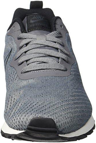 Nike - MD Runner 2 Eng Mesh - 916774001 - Color: Grey - Size: 8.5