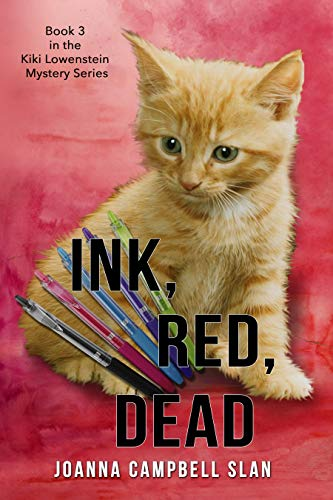 - Ink, Red, Dead: A Cozy Hobby Mystery (Kiki Lowenstein Mystery Series Book 3)