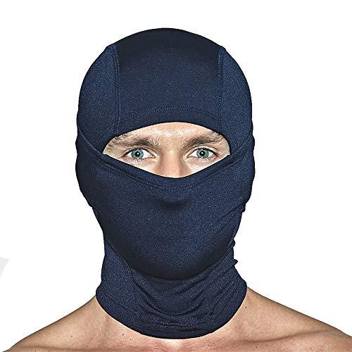 Unisex Gaiter Neck (EXIO Winter Neck Warmer Gaiter/Balaclava - Windproof Face Mask for Ski, Snowboard)