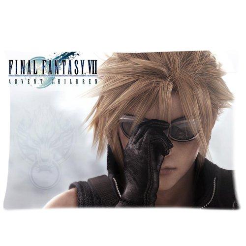 Final Fantasy Cloud fundas de almohada personalizada funda ...