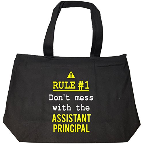 Don't Mess With The Assistant Principal - Tote Bag With Zip