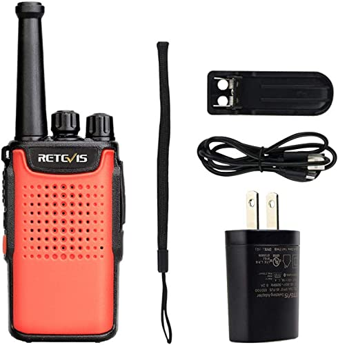 Retevis RT67 Walkie Talkie Long Range 16 Channel VOX 3000mAh Long Battery Life Small Two Way Radio