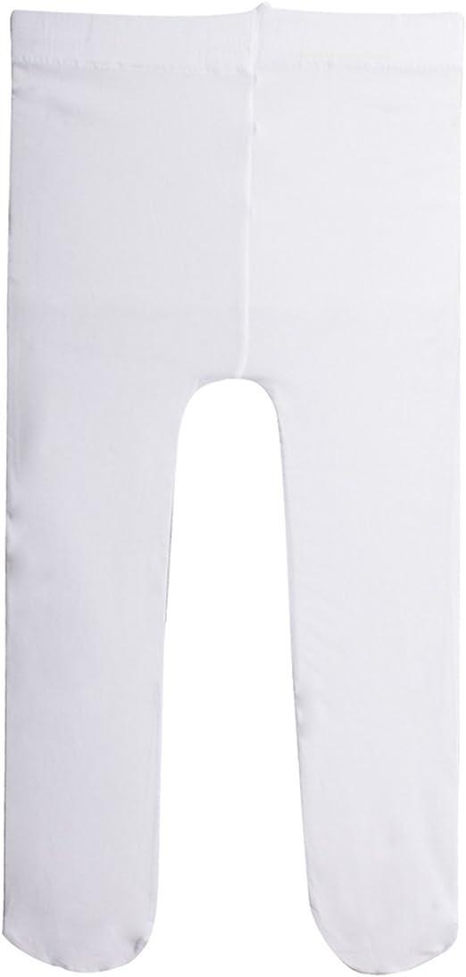 Rosa et Blanc CALZITALY 2 Paires de Collants B/éb/é en Microfibre 40 DEN et 50 DEN Collant Nouveau N/és Lisse et /à Rayures 6 24 Mois 12 Made in Italy| 18