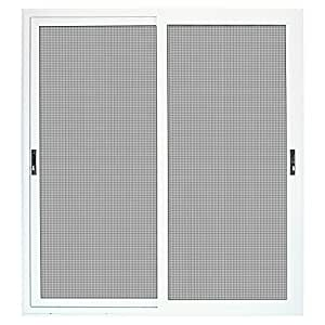 Titan 72 In X 80 In White Sliding Patio Security Door