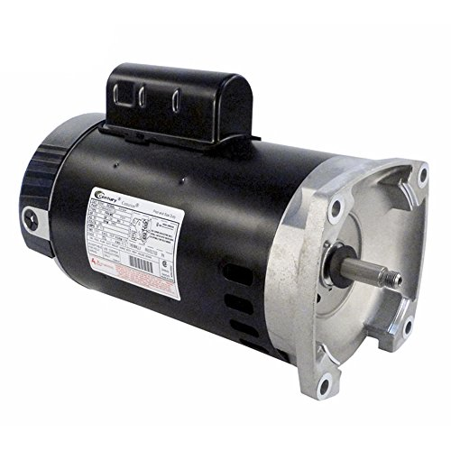 A.O. Smith B2840 2.5HP 230V Pool Pump Motor 56Y Frame Square Flange (Steel Pacfab Stainless)