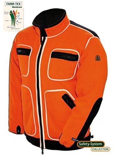 Ashford Wendejacke SAFETY orange, Größen:M