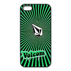 Volcom Volcom iPhone 5 5s Cell Phone Case Black DIY Gift xxy002_0390485