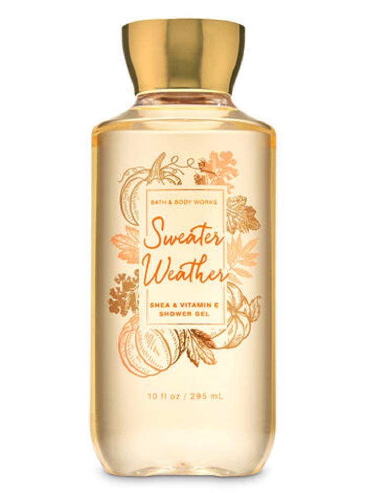 Bath and Body Works Sweater Weather Shower Gel Wash Fall 2019 Collection