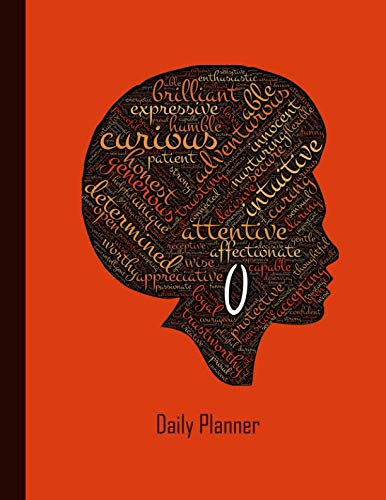 Daily Planner: 2019 - 2020 Planner | Black Female African American Afro Hair Lady | January 19 - December 19 | Writing Notebook | Datebook Calendar Schedule | Plan Days, Set Goals & Get Stuff Done by Independently published