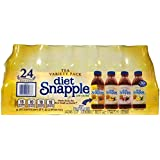 Snapple Diet Iced Tea, Variety Pack, 20 oz, 24 ct