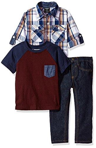 American Hawk Boys Long Sleeve, T-Shirt and Pant Set (More Styles)