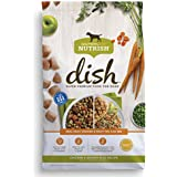 Rachael Ray Nutrish Dish Super Premium Dog Food, Chicken & Brown Rice Recipe with Real Meat, Veggies & Fruit You Can See, 11.5 bs