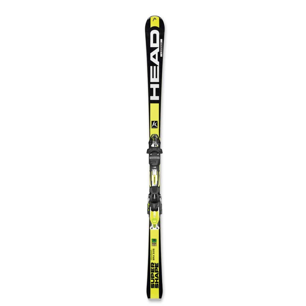 HEAD Herren Ski Supershape I Speed Modell 2015-16, inkl. Bindung PR 11 ABS