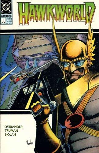 Hawkworld #6 FN ; DC comic book