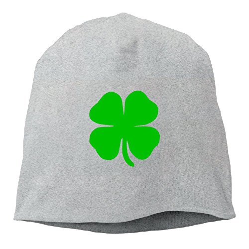 Patricks Day Knit Cap (ST Patricks Day Irish Proud Beanie Hats Knit Skull Caps Winter Beanies For Men Women Ash)