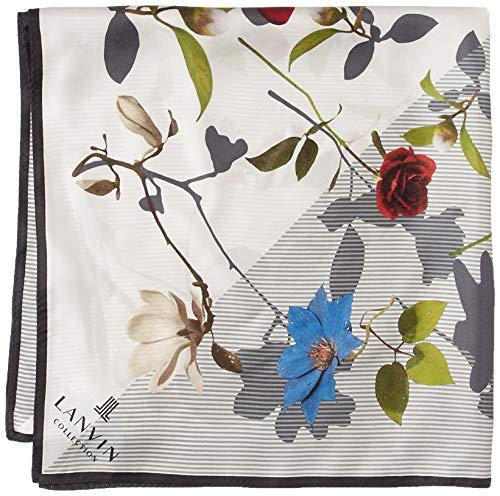 LANVIN COLLECTION [랑방 콜렉션] AURORA(오로라) 2LV 51028-01 꽃무늬 세미 스카프
