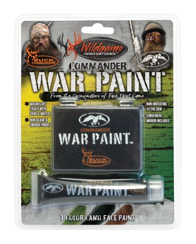 Wildgame Innovations Commander War Face Paint (Best Hunting Face Paint)