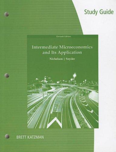 Study Guide for Nicholson/Snyder's Intermediate...