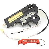 E&C Complete Gearbox Set Rear Wire para Airsoft M4 (MP003b) - AirsoftGoGo Llavero Incluido