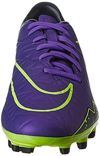 Nike Herren Hypervenom Phelon II FG Laufschuhe Morado / Negro / Verde (Hyper Grape/Hypr Grape-Blk-Vlt)