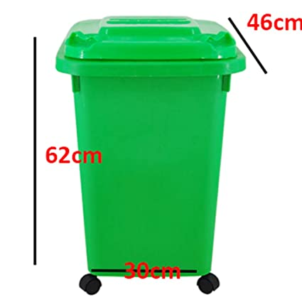 Amazon Com Trash Can Flip Trash Can Household Large Covered