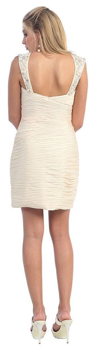 Amazon.com  May Queen MQ822 Sleeveless Short Dress  Clothing 66642b2ba