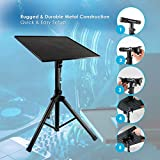 Pyle Laptop Projector Stand, Heavy Duty Tripod Height Adjustable 28\