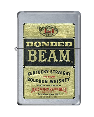 Zippo Jim Beam Bonded Beam Vintage Series 1937 Pocket Lighter