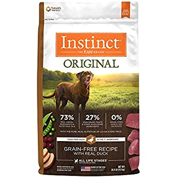 Instinct Original Grain Free Recipe with Real Duck Natural Dry Dog Food by Nature's Variety, 20 lb. Bag