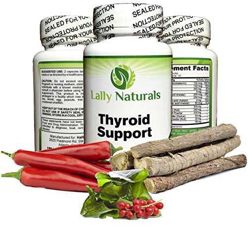 Thyroid Support Supplement with Iodine - for Men and Wome...