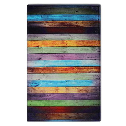 """Newcreativetop Colorful Wooden Pattern Kitchen Door Mats Rugs (17"""" x 47"""" inches)"""