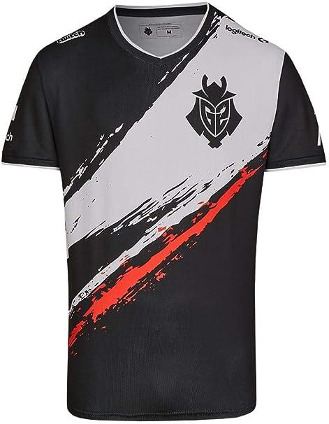 Camiseta de jugador de fútbol G2 Esports 2019 Negro S: Amazon.es: Ropa y accesorios