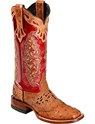 Lucchese Since 1883 Womens M5801.TWF Square Toe Fowler Heel Boot