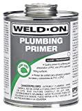 Weld-On 14030 Clear Professional Plumbing Grade PVC/CPVC Primer, Low-VOC, (12 per case)