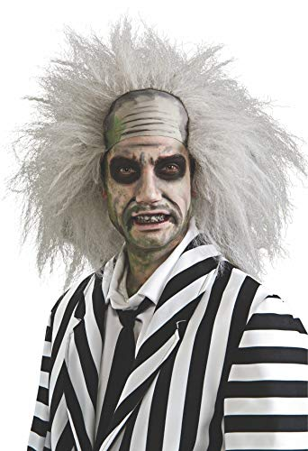 (Rubie's Costume Beetlejuice White Wig, White, One)