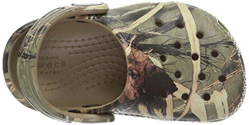 Crocs - Classique Realtree K Clog (enfant / Little Kid), EUR: 22-23, Khaki