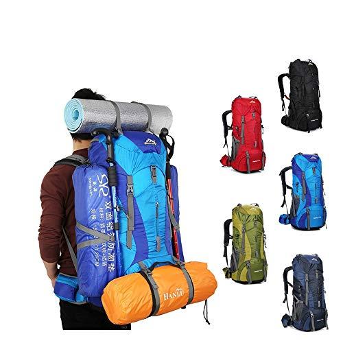 Blue De Green Impermeable Alpinismo Para Mochila Senderismo Jiuyizhe Escalada Dark Viaje color Camping Bolsa Ewpx4fOq