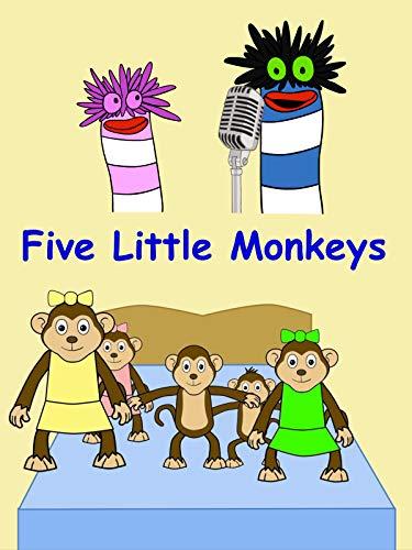 Five Little Monkeys | Fizzy Sings!