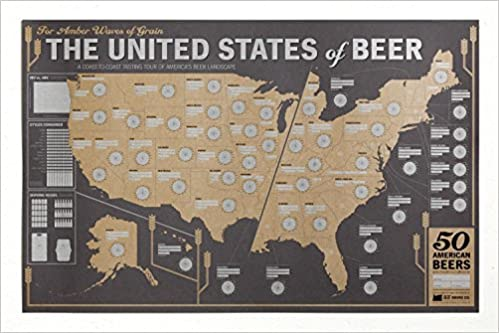 Amazoncom MapUs Of Beer 0689466694253 33 Books Co Books - Beer Map Of The Us