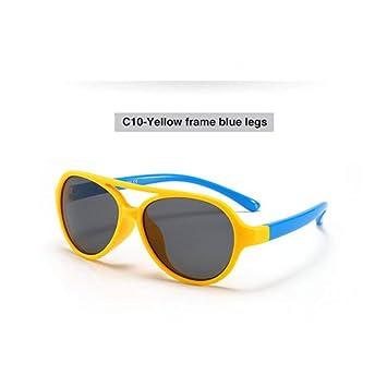 TYJYTM Gafas de Sol para niñas Gafas de Sol para niños ...