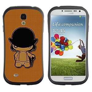 "Hypernova Slim Fit Dual Barniz Protector Caso Case Funda Para SAMSUNG Galaxy S4 IV / i9500 / i9515 / i9505G / SGH-i337 [Naranja Mecánica""]"
