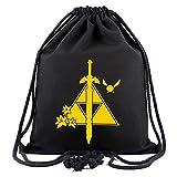 Gumstyle The Legend of Zelda Anime Sackpack Drawstring Bags Gym Sack Sport Sack Backpack 6