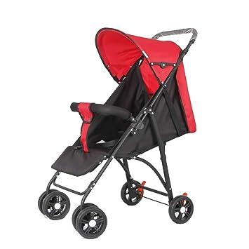 Cochecito De Bebé Plegable Portátil Ultraligero Multi-Función Paraguas Coche Reclinable Sentado Bebé Niño Carro