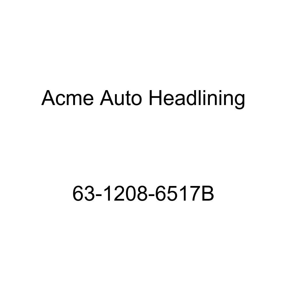 Acme Auto Headlining 63-1208-6517B Light Blue Replacement Headliner Oldsmobile 98 4 Door Sedan 6 Bow