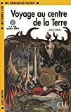 Voyage au centre de la Terre - Niveau 1 - Lecture CLE en Français facile - Livre + CD