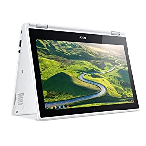"Acer R11 Convertible 2-in-1 Chromebook, 11.6"" HD Touchscreen, Intel Quad-Core N3150 1.6Ghz, 4GB Memory, 32GB SSD, Bluetooth, Webcam, Chrome OS (Certified Refurbished)"