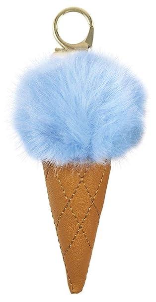Amazon.com: iscream - Llavero con diseño de cono de helado y ...