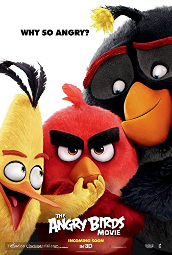 Angry Birds Movie Poster Limited Print Photo Animated Jason Sudeikis Danny McBride Size 8x10 #1 ()